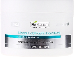 Fragrances, Perfumes, Cosmetics Mineral Paraffinic Hand Mask - Bielenda Professional Mineral Cold Paraffin Hand Mask