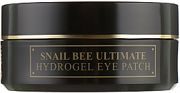 Fragrances, Perfumes, Cosmetics Snail Mucin & Bee Venom Hydrogel Patches - Benton Snail Bee Ultimate Hydrogel Eye Patch