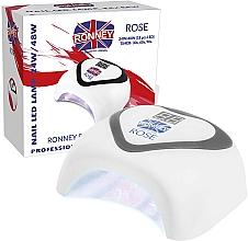 Fragrances, Perfumes, Cosmetics LED Lamp, silver - Ronney Profesional Rose LED 24W/48W (GY-LED-035) Lamp