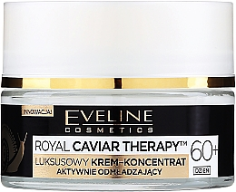 Fragrances, Perfumes, Cosmetics Active Rejuvenating Day Cream Concentrate 60+ - Eveline Cosmetics Royal Caviar Therapy Day Cream 60+