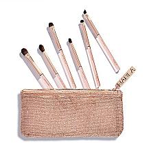 Fragrances, Perfumes, Cosmetics Brush Set in Makeup Bag - Nabla Denude Eye Brush Set