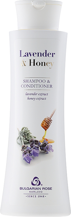 Shampoo-Conditioner - Bulgarian Rose Lavender & Honey