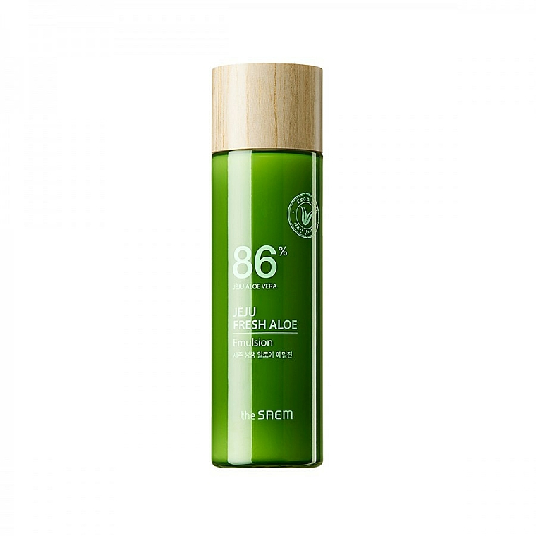 Moisturizing Aloe Vera Face Emulsion - The Saem Jeju Fresh Aloe Emulsion