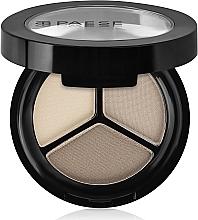 Fragrances, Perfumes, Cosmetics Trio Matte Eyeshadow - Paese Triple Eyeshadows Trio Matt