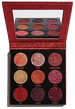 Fragrances, Perfumes, Cosmetics Glitter Palette - Makeup Revolution Pressed Glitter Palette Hot Pursuit