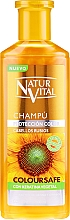 Fragrances, Perfumes, Cosmetics Color Protection Shampoo - Natur Vital Coloursafe Henna Colour Shampoo Blonde Hair