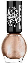Fragrances, Perfumes, Cosmetics Nail Polish - Miss Sporty Wonder Metal