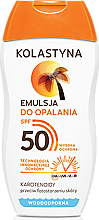 Fragrances, Perfumes, Cosmetics Sun Protection Emulsion SPF50 - Kolastyna