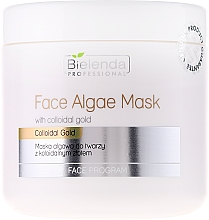 Fragrances, Perfumes, Cosmetics Alginate Face Mask with Colloidal Gold - Bielenda Professional Face Algae Mask
