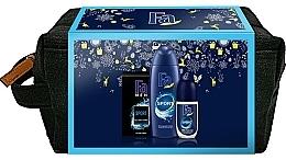 Fragrances, Perfumes, Cosmetics Set - Fa Men Sport (sh/gel/250ml + deo/roll/50ml + ash/lot/100ml + bag)