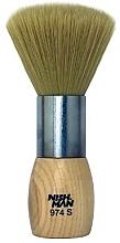 Fragrances, Perfumes, Cosmetics Neck Duster Brush, 974 S - Nishman