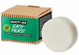 Fragrances, Perfumes, Cosmetics Shampoo and Shave Soap - Beauty Jar Easy Peasy Shampoo & Shave Multi-Purpose Bar
