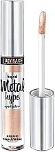Fragrances, Perfumes, Cosmetics Liquid Eyeshadow - Luxvisage Metal Hype Liquid Eyeshadow