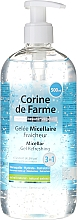Fragrances, Perfumes, Cosmetics Micellar Gel - Corine De Farme Micellar Gel Refreshing