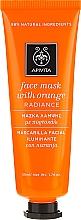 "Fragrances, Perfumes, Cosmetics Orange Face Mask ""Radiance"" - Apivita Radiance Face Mask with Orange"