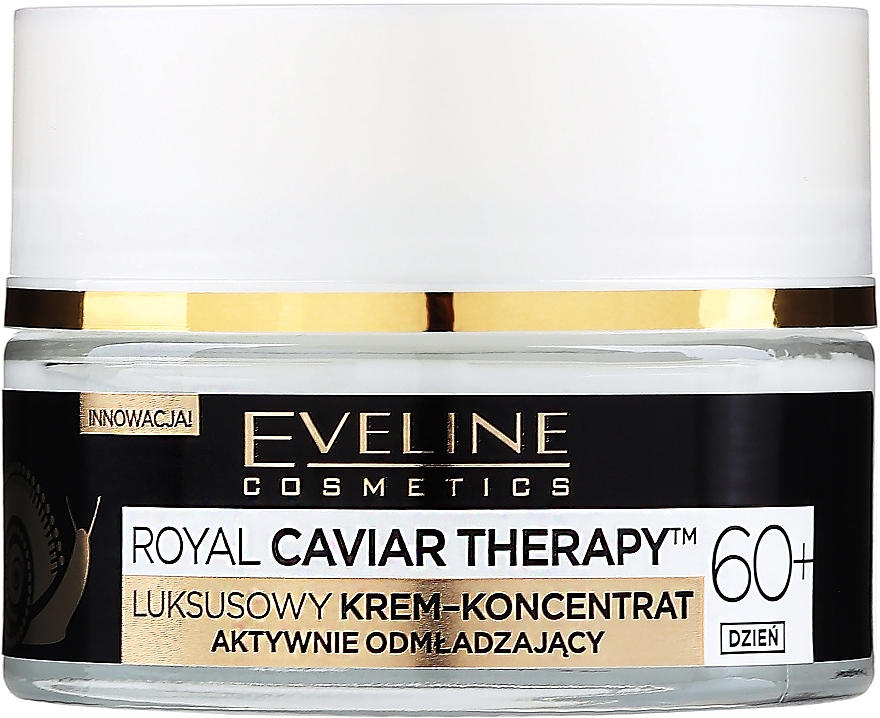 Active Rejuvenating Day Cream Concentrate 60+ - Eveline Cosmetics Royal Caviar Therapy Day Cream 60+