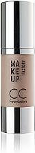 Fragrances, Perfumes, Cosmetics Foundation - Make Up Factory CC Foundation Color Correcting SPF 10