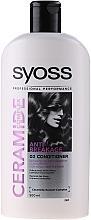 Fragrances, Perfumes, Cosmetics Strengthening Conditioner - Syoss Ceramide Complex Anti-Breakage Conditioner
