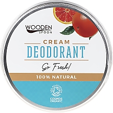 Fragrances, Perfumes, Cosmetics Deodorant Cream - Wooden Spoon Go Fresh Cream Deodorant