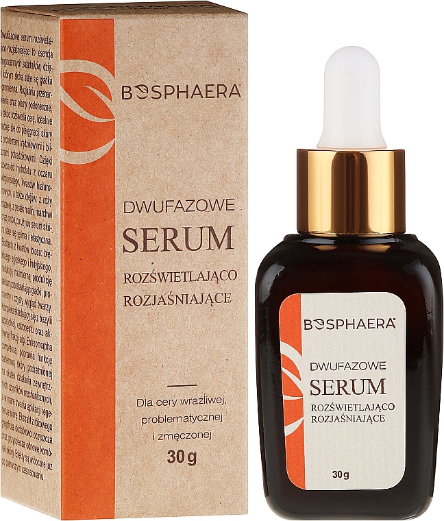 Two-Phase Brightening Serum - Bosphaera Serum