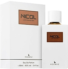 Fragrances, Perfumes, Cosmetics Kolmaz Luxe Collection Nicol - Eau de Parfum