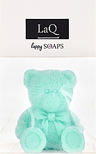 """Fragrances, Perfumes, Cosmetics Natural Hand Made Soap """"Little Bear"""" with Kiwi Scent - LaQ Happy Soaps Natural Soap"""