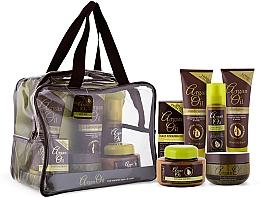 Fragrances, Perfumes, Cosmetics Set - Xpel Marketing Ltd Argan Oil (sh/250ml+cond/250ml+oil/50ml+mask/220ml+h/spr/150ml+b/but/250ml)
