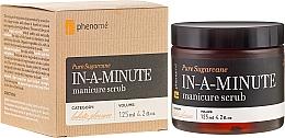 Fragrances, Perfumes, Cosmetics Hand Scrub - Phenome Pure Sugarcane In-A-Minute Manicure Scrub