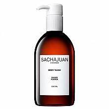 Fragrances, Perfumes, Cosmetics Moisturizing & Soothing Shower Gel with Bergamot & Lemon Flowers Scent - Sachajuan Ginger Flower Body Wash