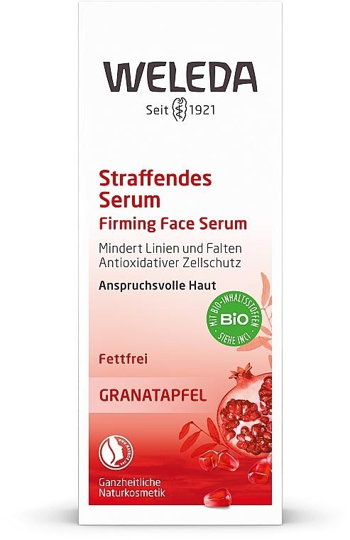 Pomegranate Intensive Lifting Serum - Weleda Pomegranate Firming Face Serum — photo N1