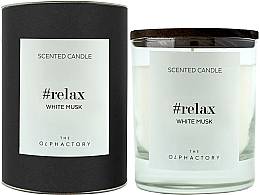 Fragrances, Perfumes, Cosmetics White Musk Scented Candle - Ambientair The Olphactory Relax White Musk Black Design