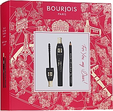 Fragrances, Perfumes, Cosmetics Set - Bourjois For You My Dear (mascara/8ml+eyeliner/1.65g)