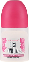 """Fragrances, Perfumes, Cosmetics Roll-on Deodorant """"Rose and Vanilla"""" - Schmidt's Rose + Vanille Deo Roll-On"""