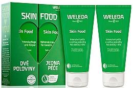 Fragrances, Perfumes, Cosmetics Set - Weleda Skin Food (f/b/cr/75ml + f/b/cr/75ml)