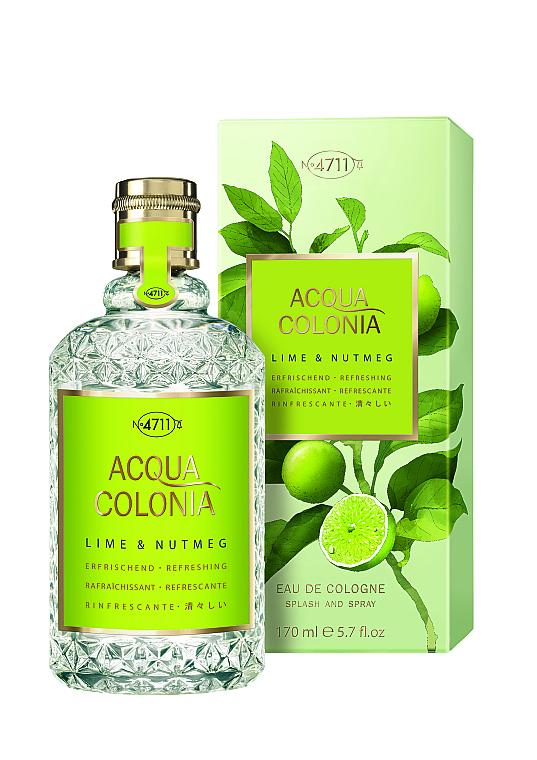 Maurer & Wirtz 4711 Aqua Colognia Lime & Nutmeg - Eau de Cologne