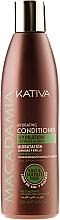 Fragrances, Perfumes, Cosmetics Moisturizing Conditioner for Normal & Damaged Hair - Kativa Macadamia Hydrating Conditioner