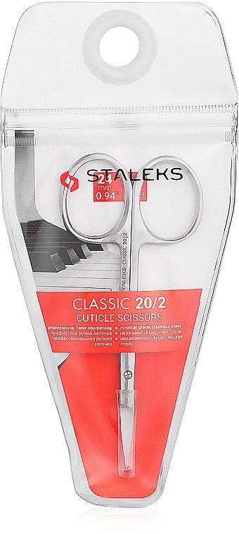 Cuticle Scissors, 24 mm, SC-20/2 - Staleks Classic 20 Type 2