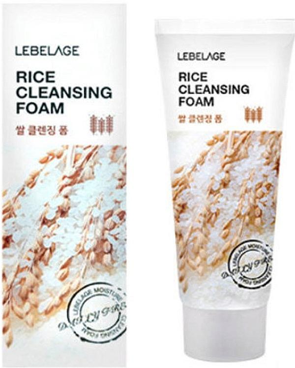 Rice Cleansing Foam - Lebelage Rice Cleansing Foam
