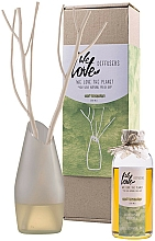Fragrances, Perfumes, Cosmetics Reed Diffuser with a Glass Vase - We Love The Planet Light Lemongras Diffuser