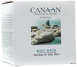 Fragrances, Perfumes, Cosmetics Mud Mask for Normal & Dry Skin - Canaan Minerals & Herbs Mud Mask Normal to Oily Skin