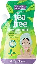 Fragrances, Perfumes, Cosmetics Peel Off Face Mask - Beauty Formulas Tea Tree Peel-Off Mask
