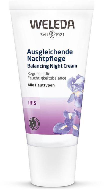 Iris Night Cream - Weleda Iris Nachtcreme — photo N1