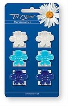 Fragrances, Perfumes, Cosmetics Hair Claws 6 pcs, 24153 - Top Choice