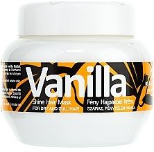 "Fragrances, Perfumes, Cosmetics Shine Mask for Dry Hair ""Vanilla"" - Kallos Cosmetics Vanilla Shine Hair Mask"