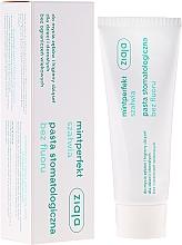 Fragrances, Perfumes, Cosmetics Fluoride-Free Toothpaste - Ziaja Mintperfect