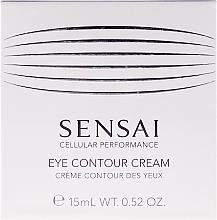 Fragrances, Perfumes, Cosmetics Repair Anti-Aging Eye Contour Cream - Kanebo Sensai Cellular Performance Eye Contour Cream