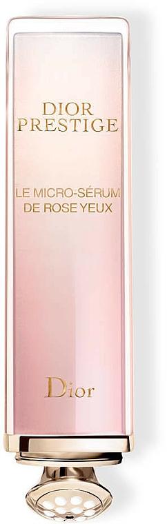 Rose Eye Serum - Dior Prestige Micro-Nutritive Rose Eye Serum