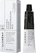 Fragrances, Perfumes, Cosmetics Facial Peeling - D'Alchemy Natural Micro‑Dermabrasion Peel