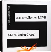 Set - Sezmar Collection Love Crystal Amber (f/cr/2x50ml + f/mask/100ml + f/serum/30ml + eye/cr/30ml) — photo N1