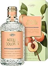 Fragrances, Perfumes, Cosmetics Maurer & Wirtz 4711 Acqua Colonia White Peach & Coriander - Eau de Cologne
